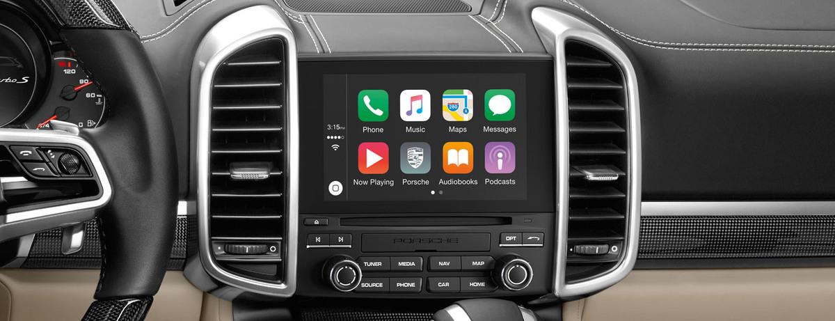 Apple® CarPlay | Porsche in Ukraine